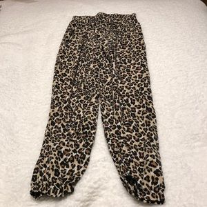 Other - Cheetah print pjs